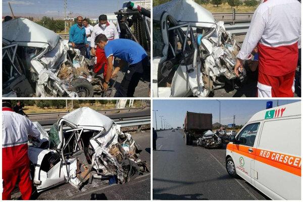 وقوع سه فقره تصادف در کردستان باعث زخمی و کشته شدن ۱۰ نفر شد